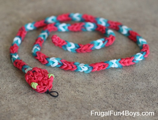 How to Make Loom Band Snakes