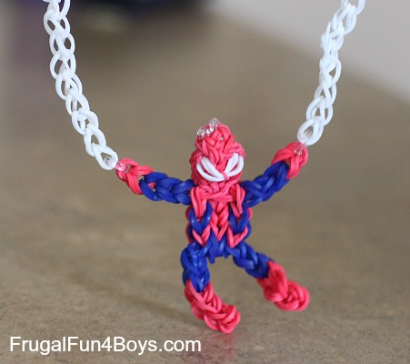 Seven Boy Approved Loom Band Projects