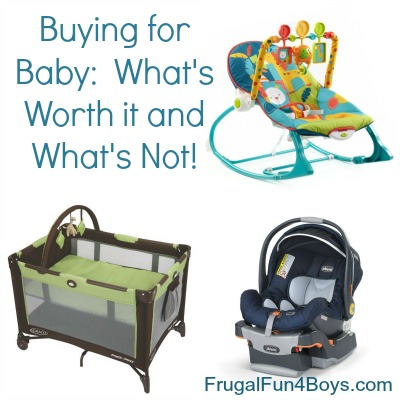 Buying for Baby:  What Gear is Worth it and What's Not