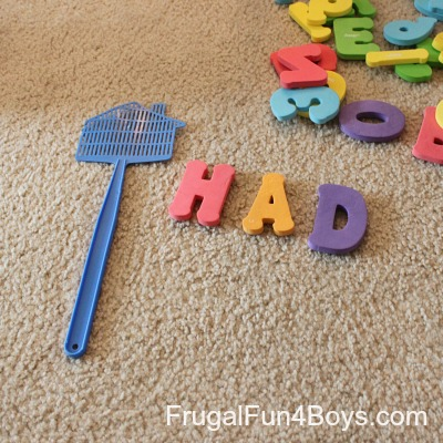 Phonics Game for Beginning Readers