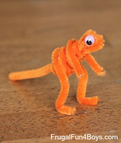 Pipe Cleaner Animals Craft for Kids