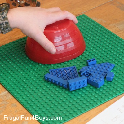 Improving Word Problem Skills with Lego