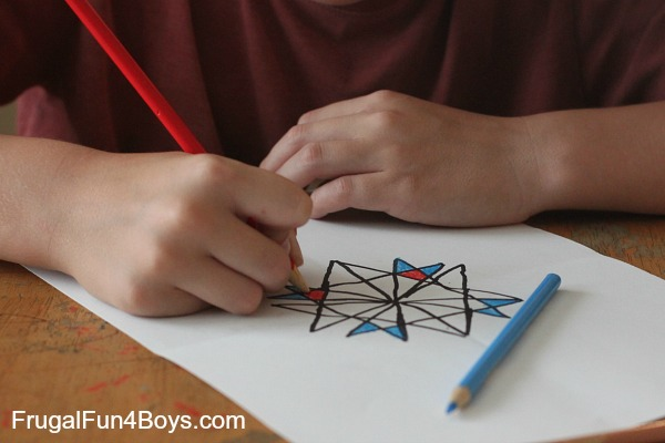 Geometric Art for Kids