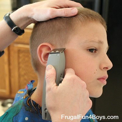 How to do a boys' haircut with clippers