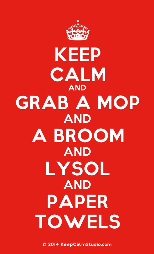 Spills, Messes, and Keeping Calm as a Mom