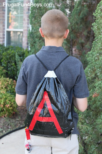 Make a Duct Tape Backpack
