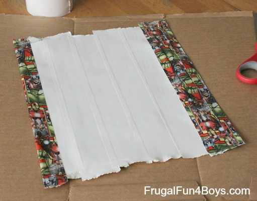 How to make a duct tape zipper pouch