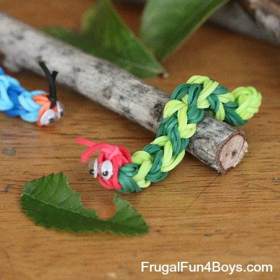Rainbow Loom Caterpillar