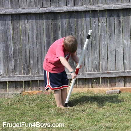 PVC Pipe Bow and Arrows - Frugal Fun For Boys and Girls