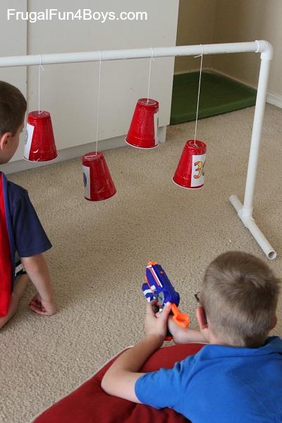 Swinging Nerf Targets