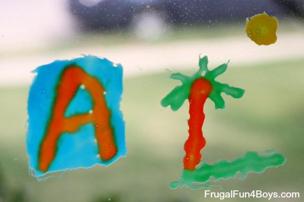 Craft Glue Window Clings