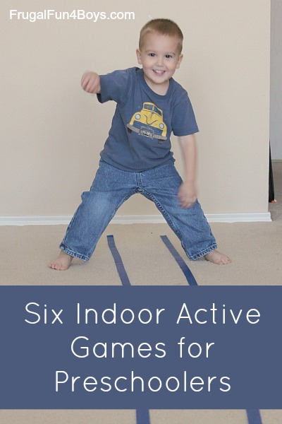 Active Games for Preschoolers