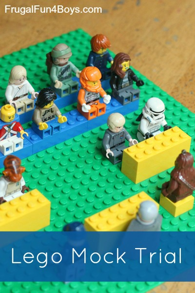 Lego Mock Trial