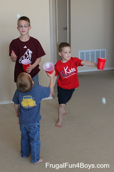 Indoor Active Games for Preschoolers