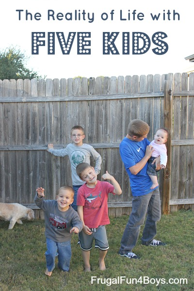 The Reality of Life with Five Kids