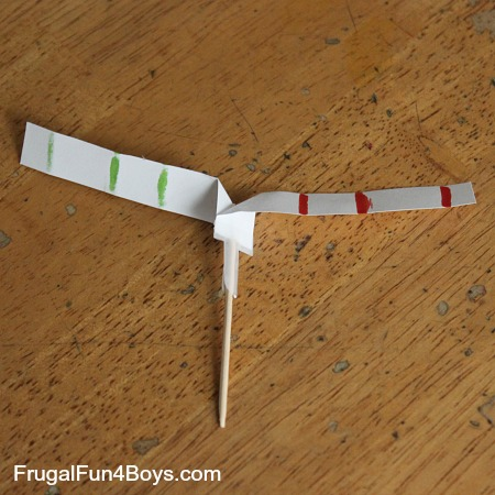 Toothpick Twirlers Science Experiment