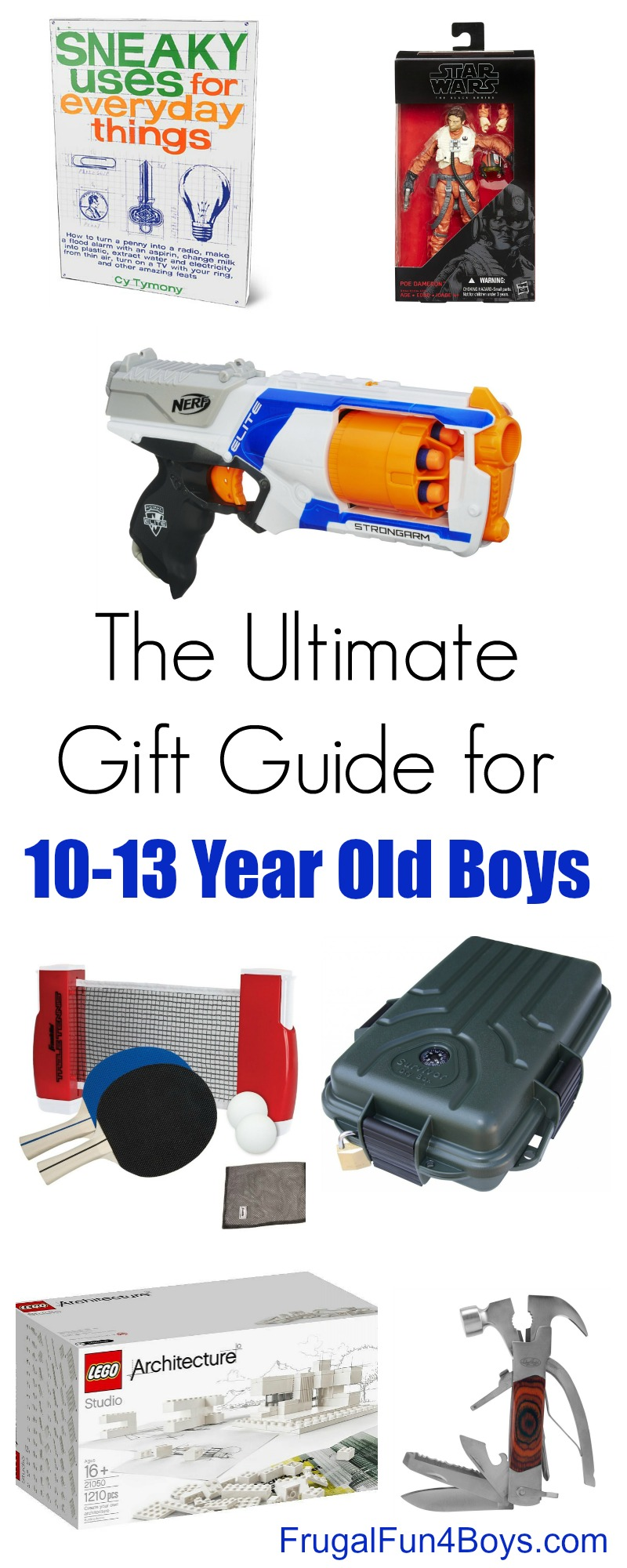 The Best Gifts for 10-13 Year Old Boys