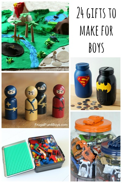 24 Gifts to Make for Boys