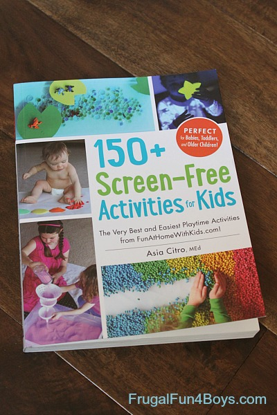A new book for kids!! 150+ Screen-Free Activities for Kids