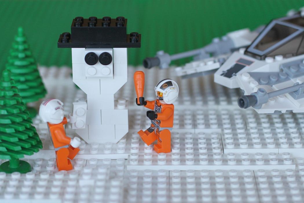 Lego wall calendar