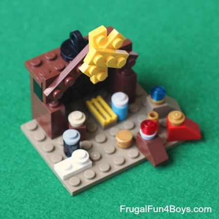 Lego Christmas Projects with Instructions