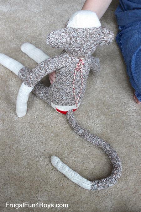 Superhero Sock Monkeys