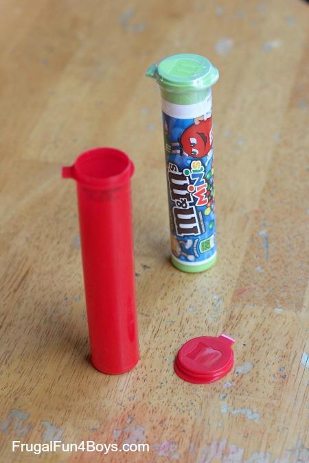 M&M's Tube Rocket