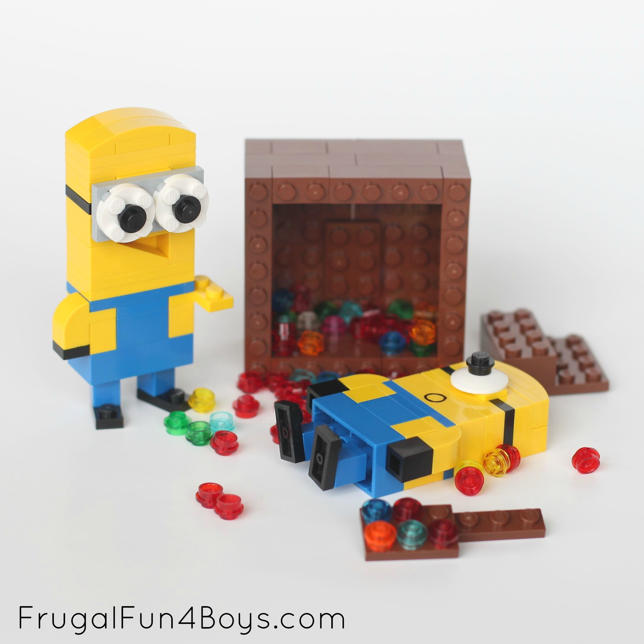 Lego Minions - Building Instructions