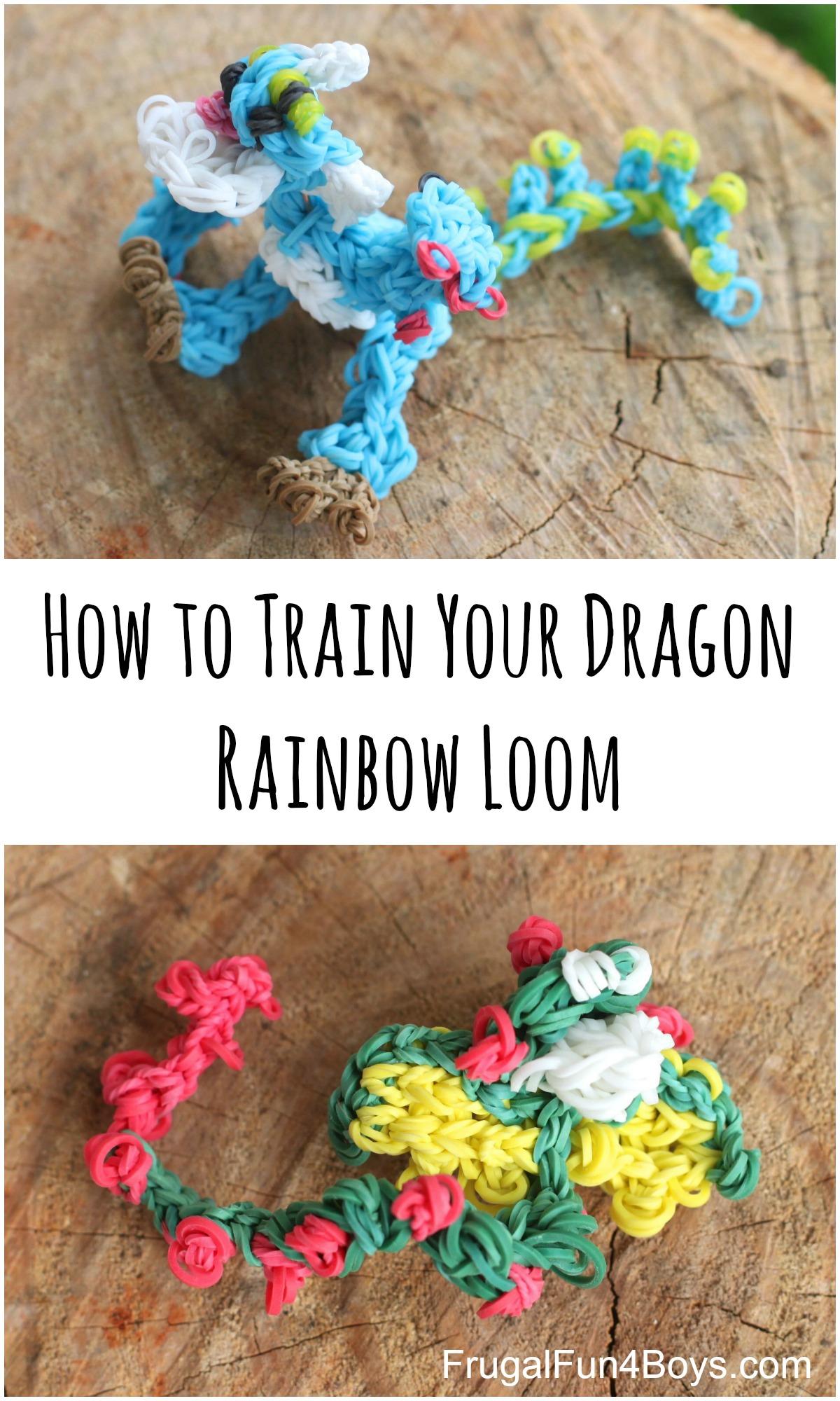 How to Train Your Dragon 2 Rainbow Loom