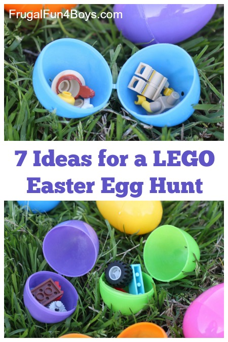 Ideas For A Lego Easter Egg Hunt Frugal Fun For Boys And Girls