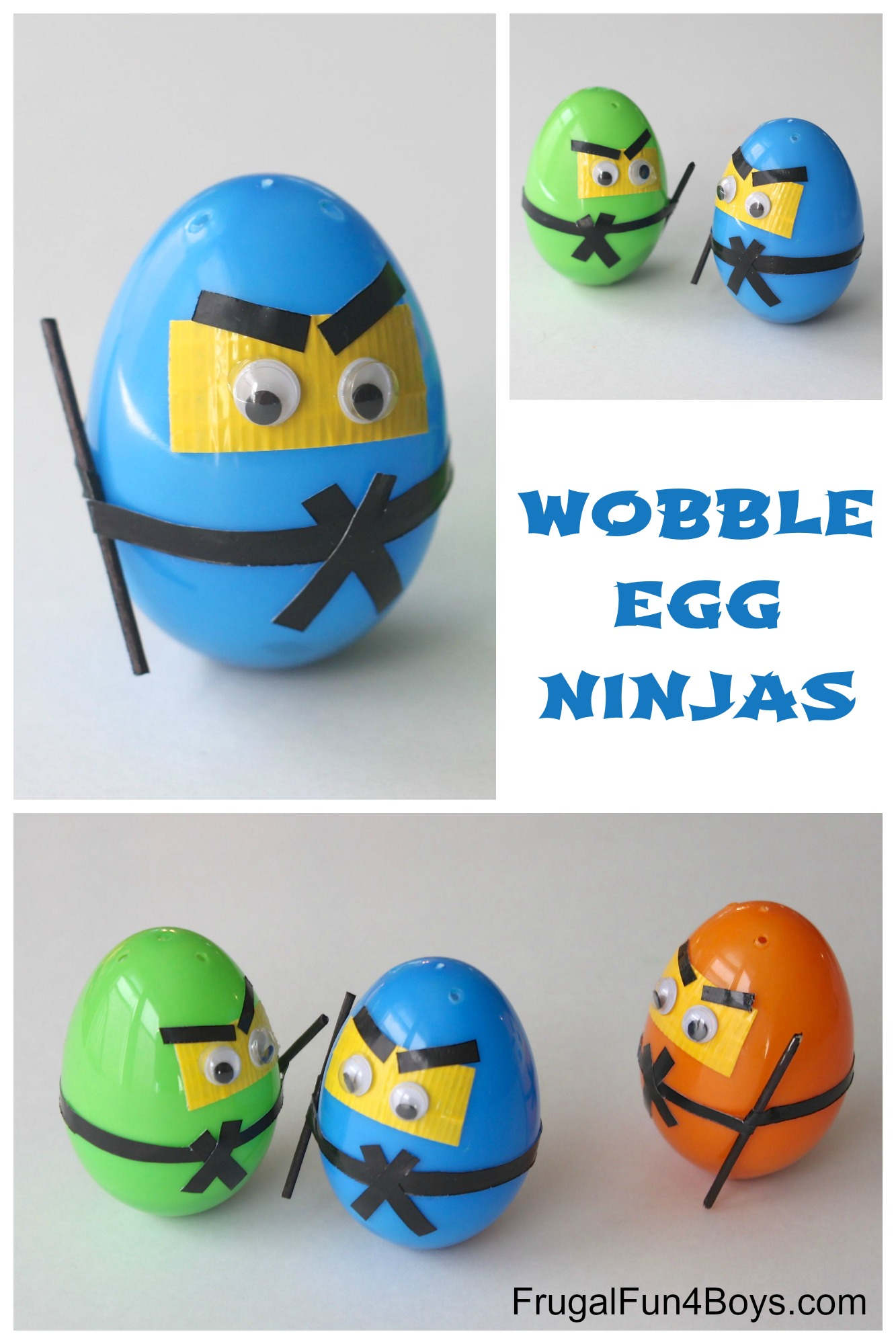 How to Make Wobble Egg Ninjas