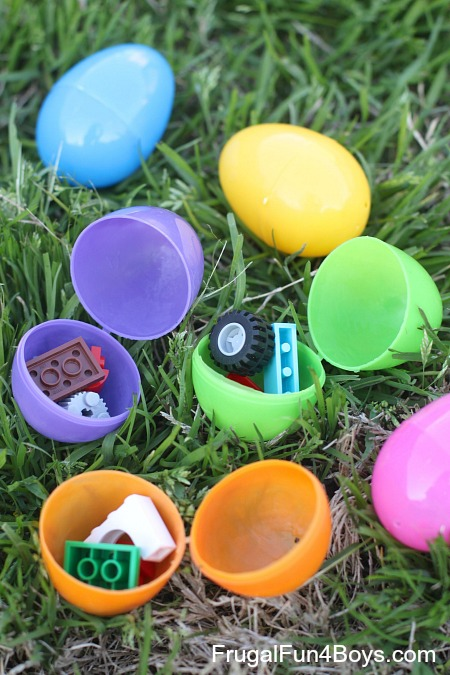 7 Ideas for a LEGO Easter Egg Hunt