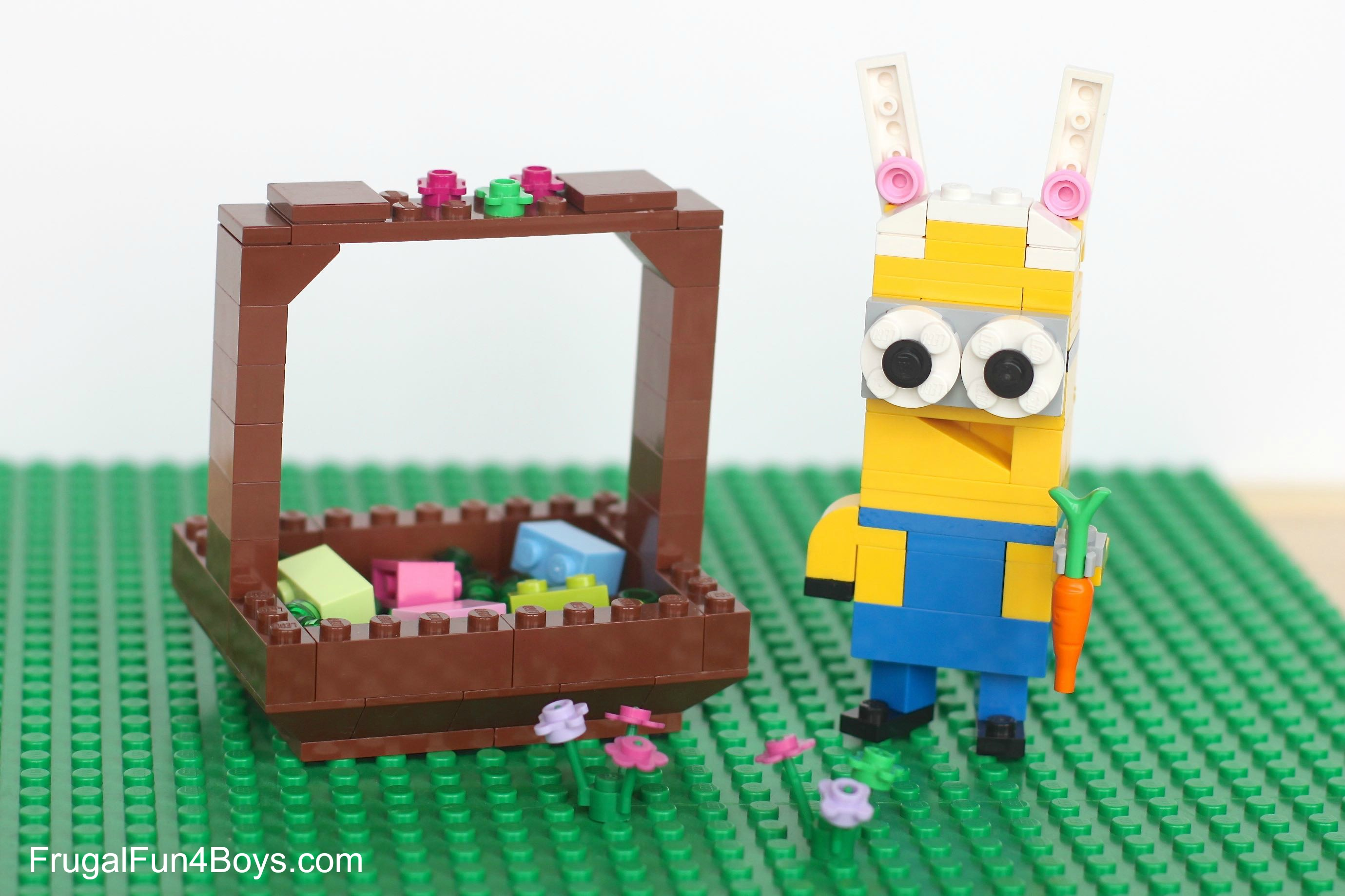 Five Spring Lego Projects to Build