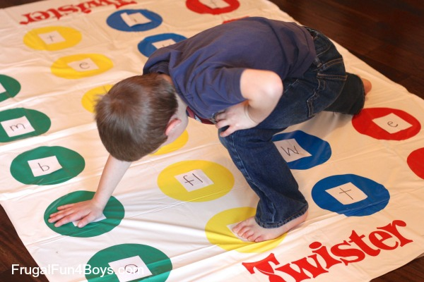 Activities for Wiggly Beginning Readers