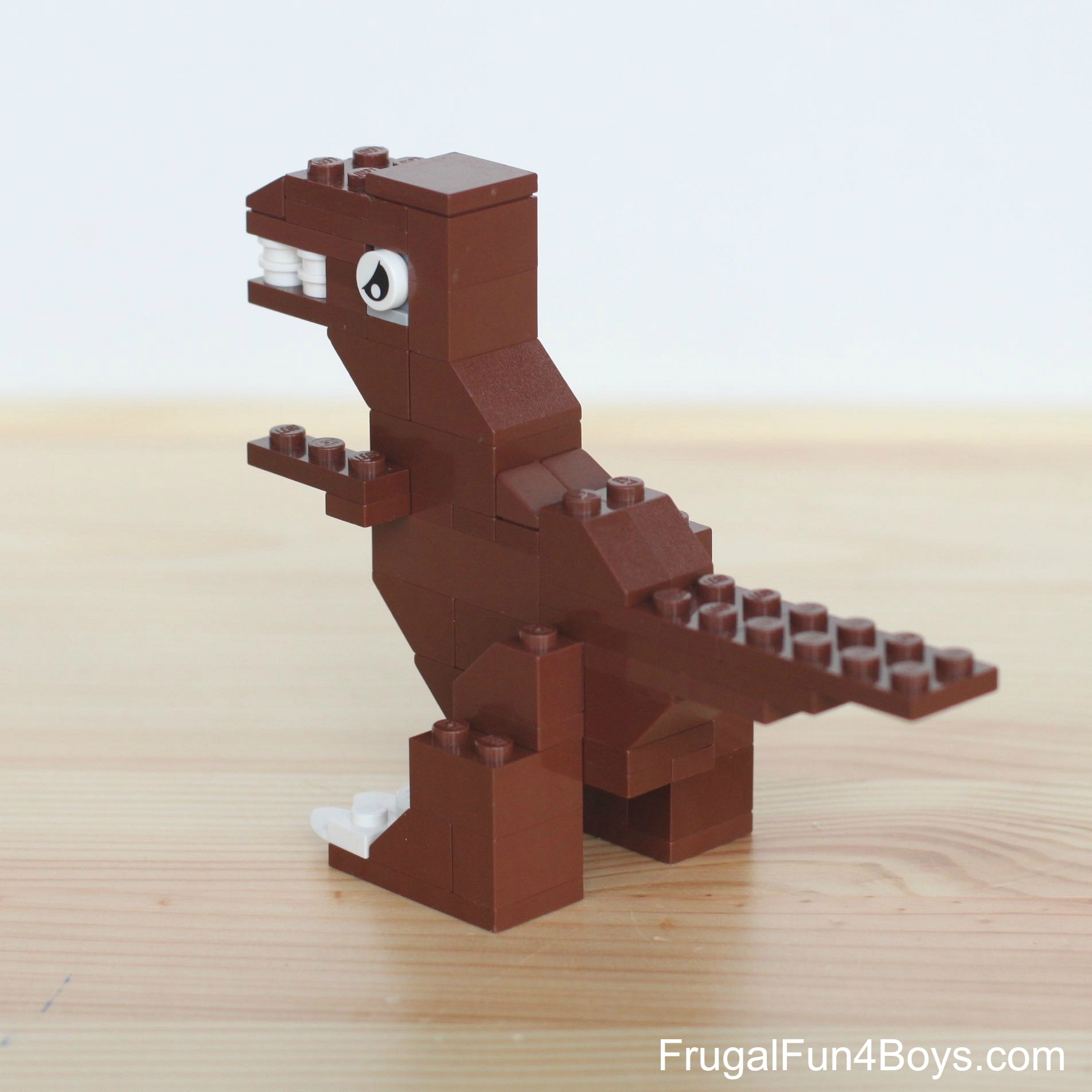 Five Lego Dinosaurs To Build Frugal Fun For Boys And Girls