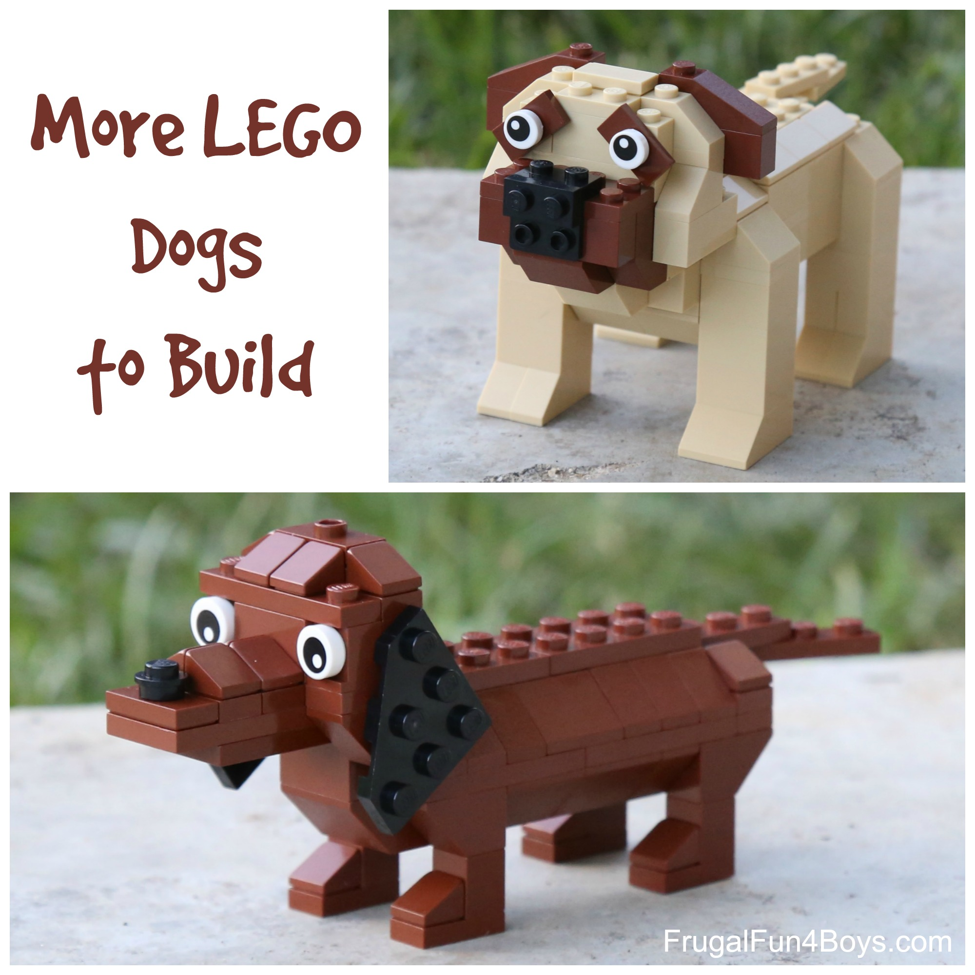 More lego dogs FB