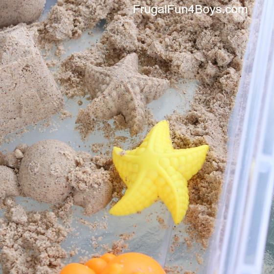 How to Make Sand Cloud Dough