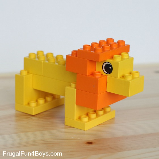 Duplo Animals to Build