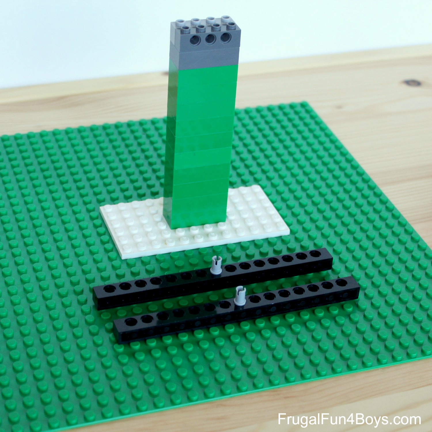 Build a LEGO Balance - Math Activity