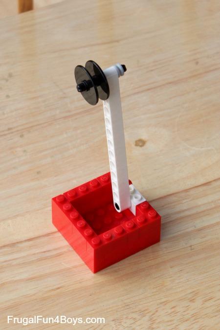 Build a LEGO Zipline