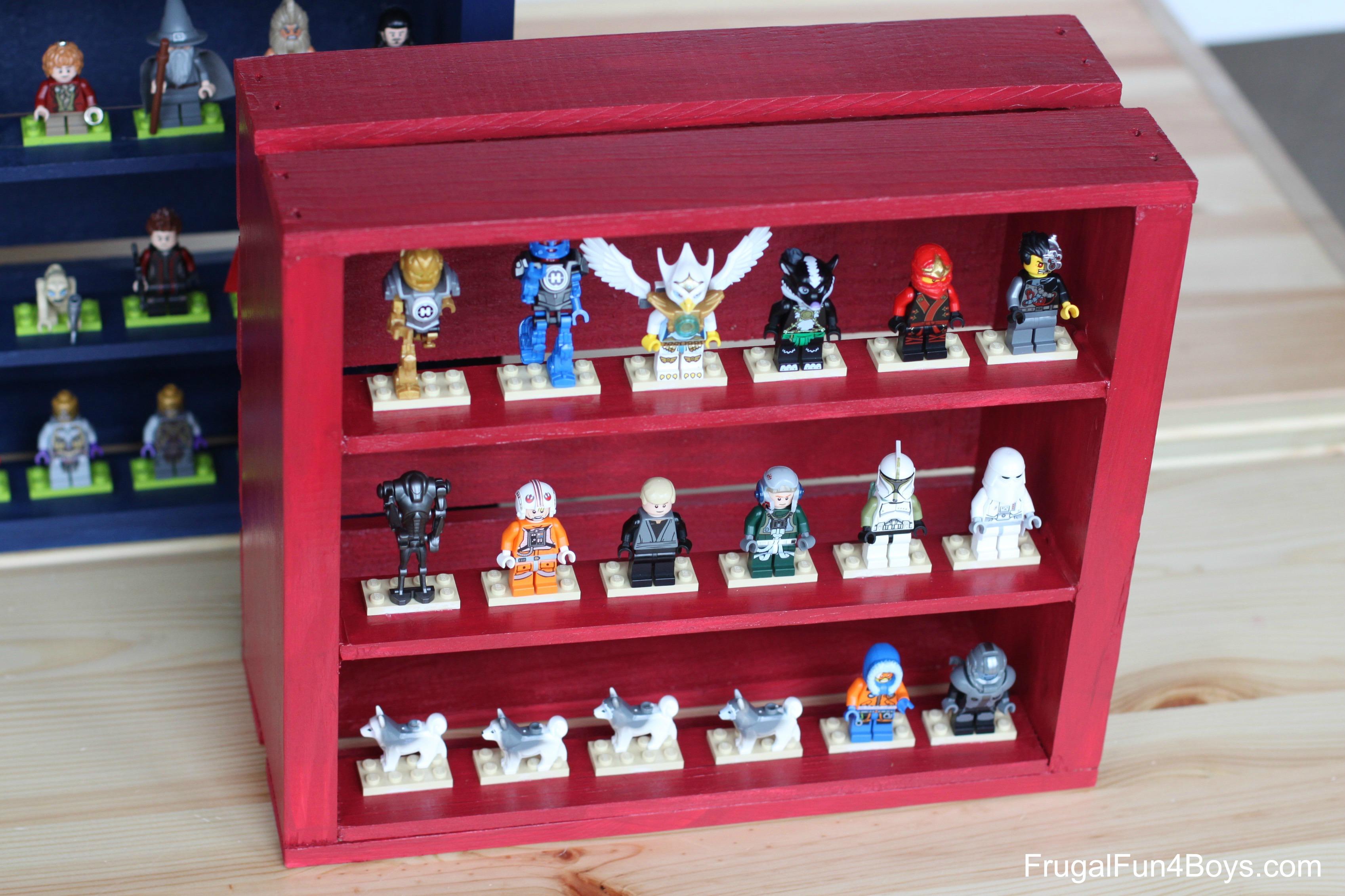 Lego Storage Box Wood Homemade