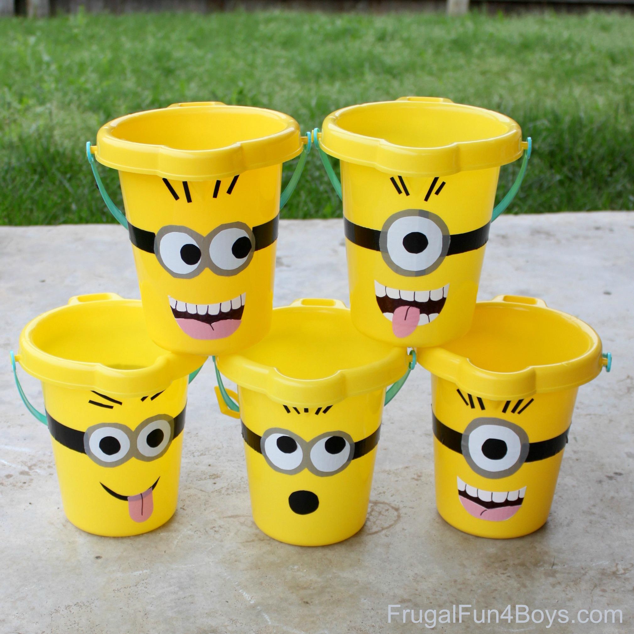 Minions Sand Buckets