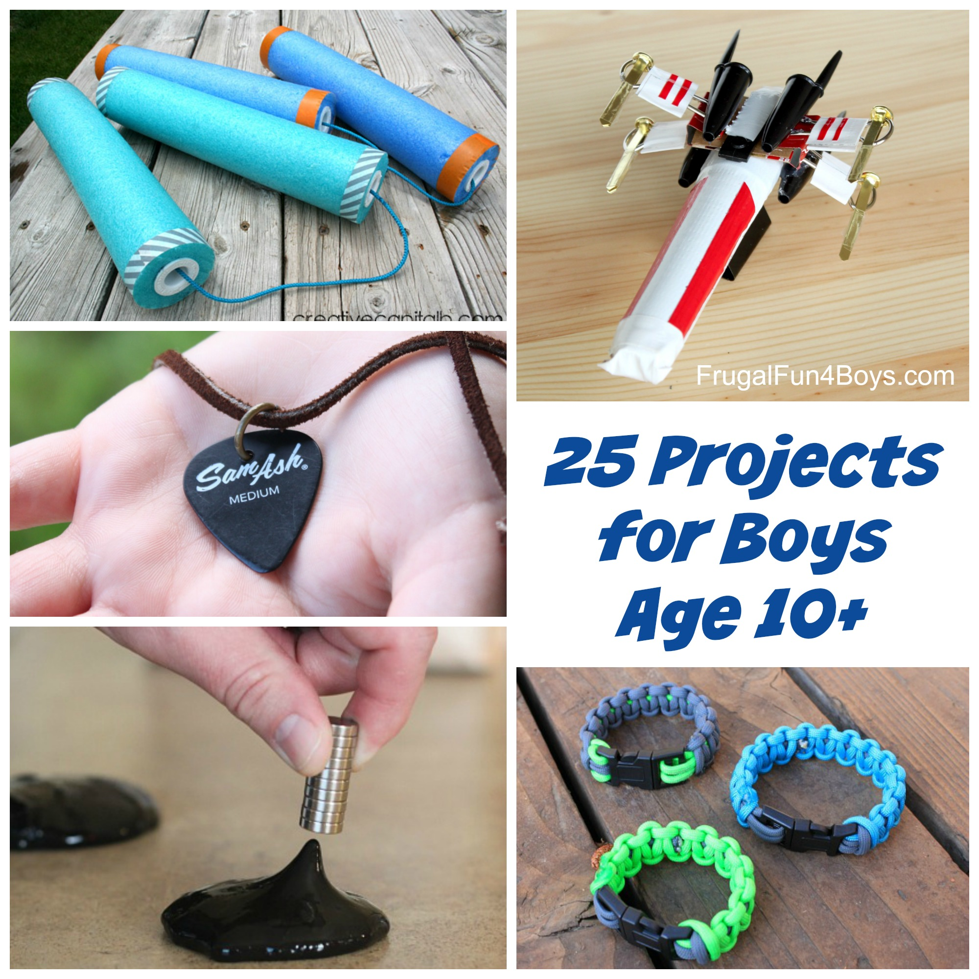 25 Awesome Projects for Boys Age 10+