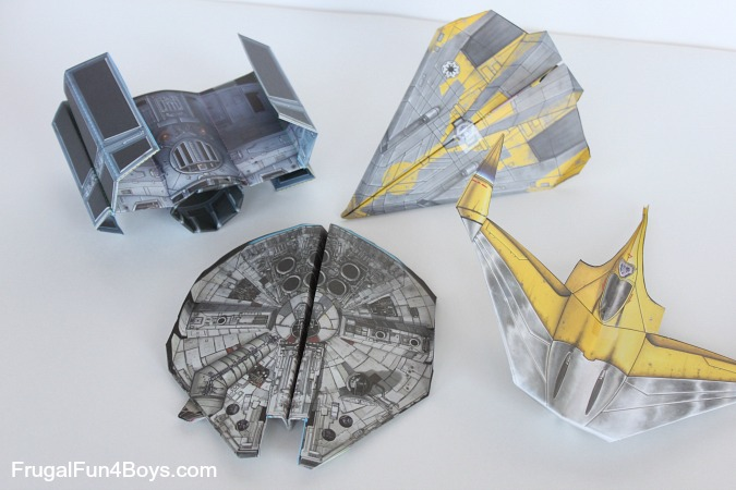 Star Wars Paper Crafts