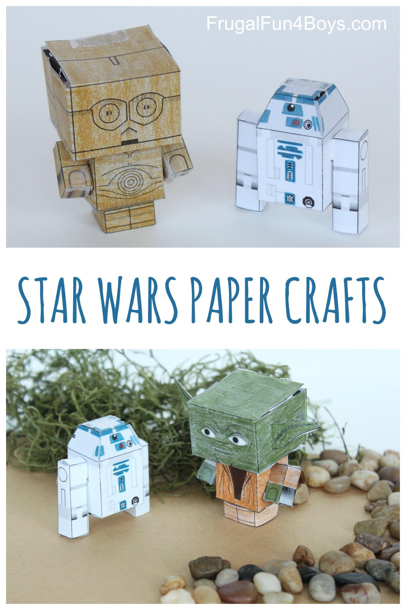 Star Wars Paper Crafts to Make