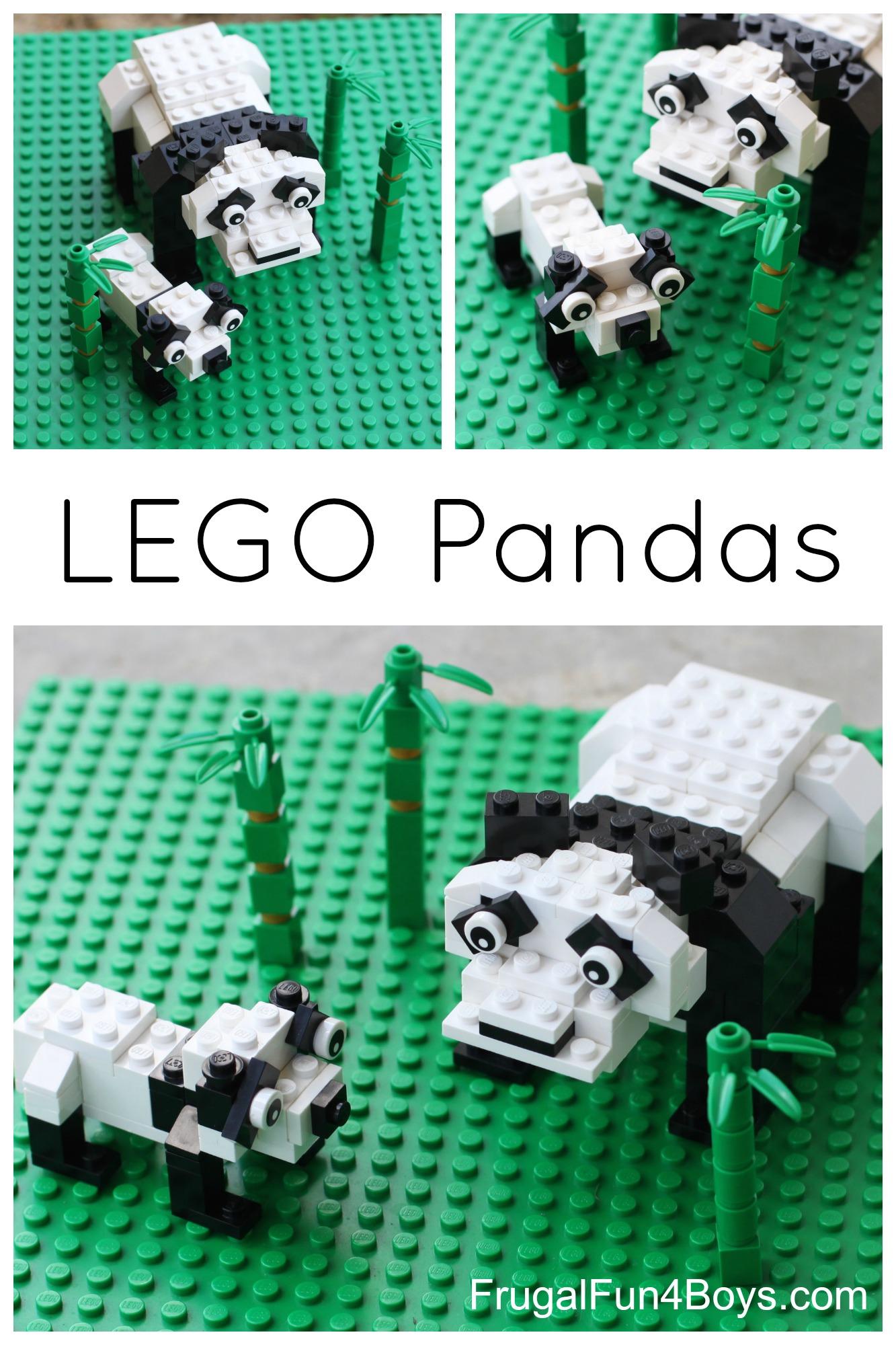 LEGO Pandas Building Instructions