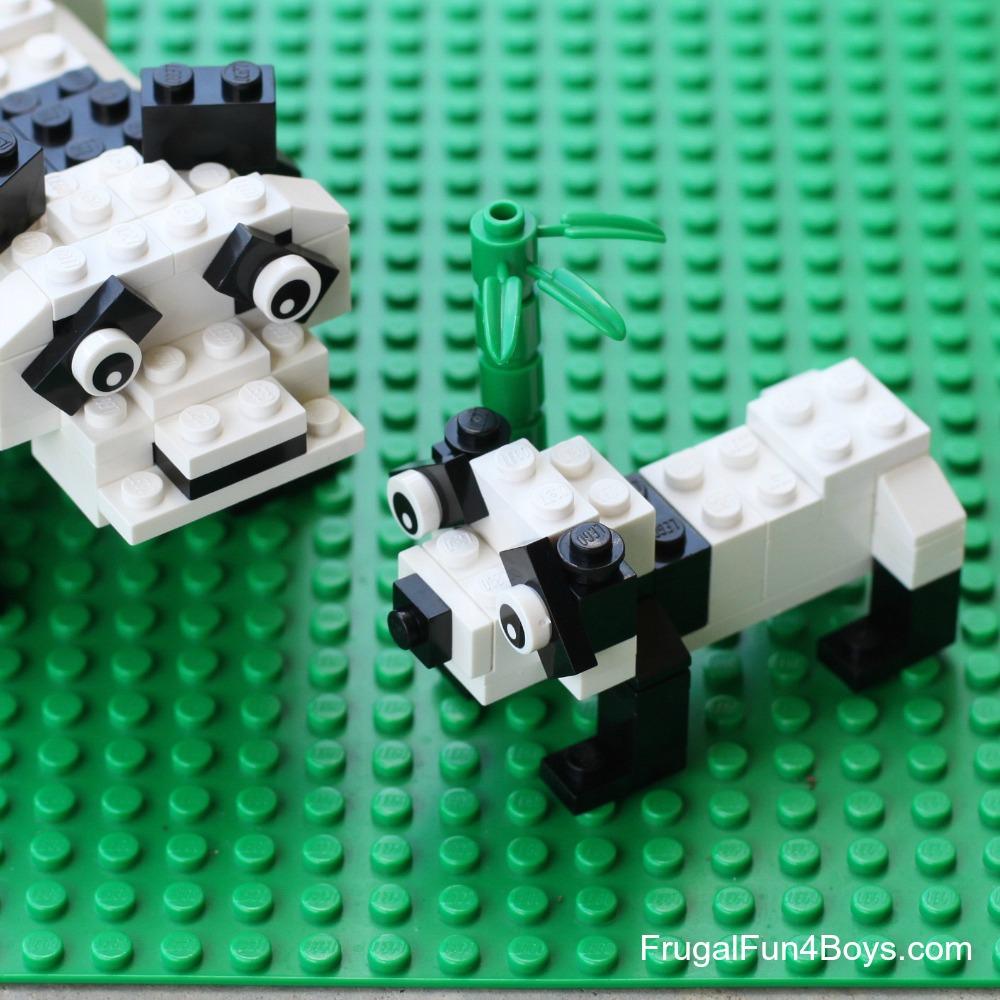 How to Build Lego Pandas