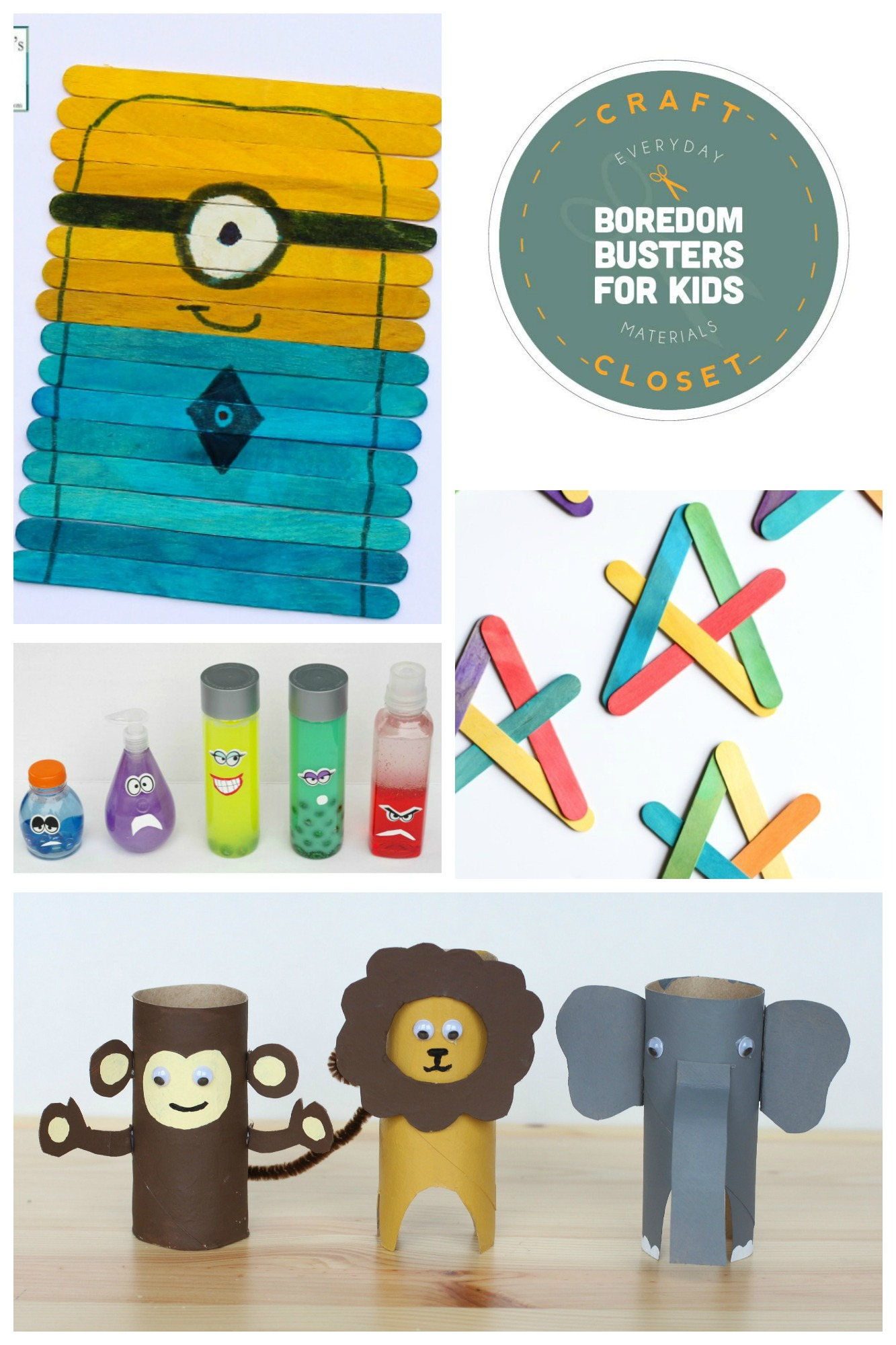 25+ Crafts and Activities for Kids Using Everyday Materials