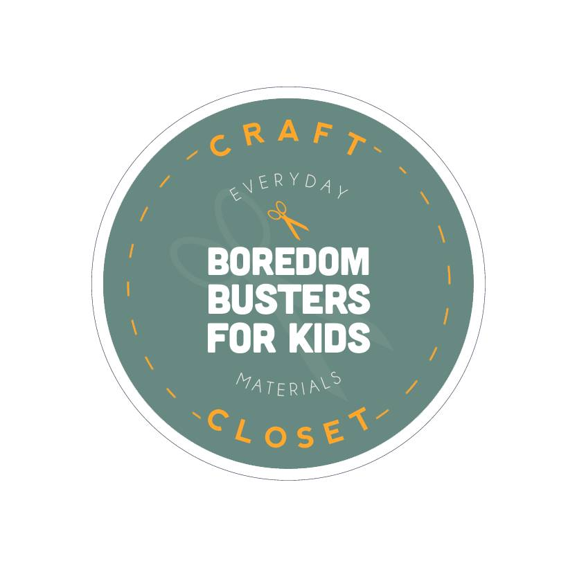 Craft Closet Boredom Busters for Kids!