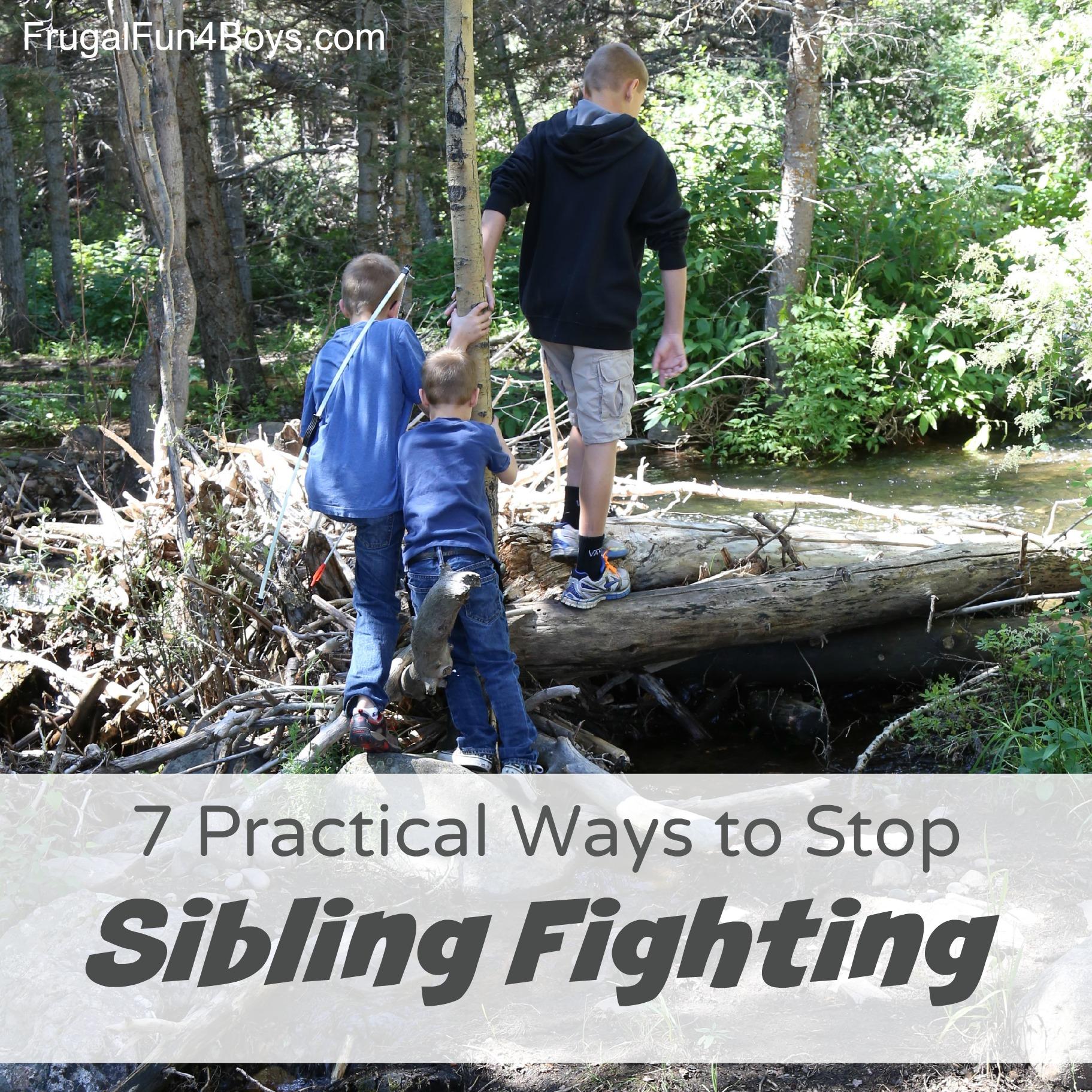 7 Practical Ways to Help Siblings Get Along!